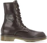 Max Mara lace-up combat boots