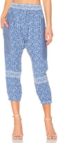 Ulla Johnson Suki Pant in Blue. - size 0 (also in )