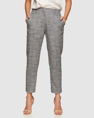 Oxford Charla Eco Checked Suit Trousers