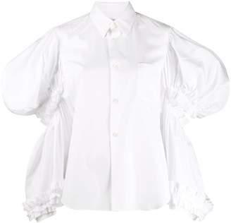 Comme des Garcons oversized sleeve shirt