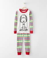 Hanna Andersson Peanuts Long John Pajamas In Organic Cotton