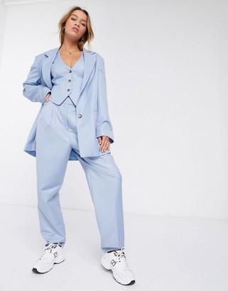 Asos DESIGN extreme dad 3 piece suit pants