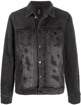 Thom Krom Stonewashed Denim Jacket