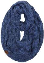 Funky Junque S1-6100-57 Ribbed Scarf: Royal Blue