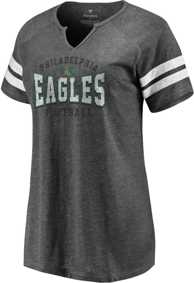brand new 06a4d 7697e Nfl Women's Philadelphia Eagles Vintage Football Tee