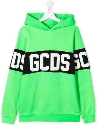 Gcds Kids TEEN Band Logo hoodie