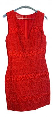 Giambattista Valli Red Lace Dresses