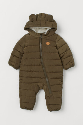 H&M Padded Snowsuit - Green