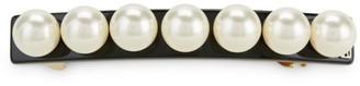 Alexandre de Paris Oversize Faux Pearl Hair Clip