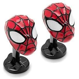 Cufflinks Inc. Cufflinks, Inc. Men's Marvel Comics Silvertone 3D Spiderman Cuff Links