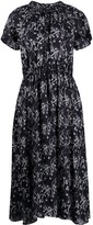 Kenzo floral print ruched midi dress