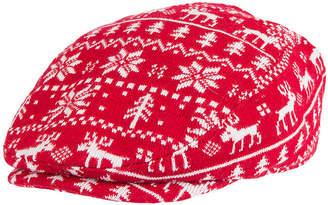 WEMBLEY Wembley Holiday Fairisle Reindeer Ivy Cap