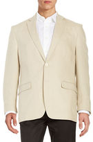 Lauren Ralph Lauren Two-Button Linen Jacket