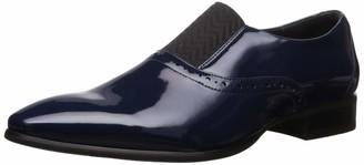 Stacy Adams Men's Vale Plain-Toe Formal-Tuxedo Slip-On Loafer
