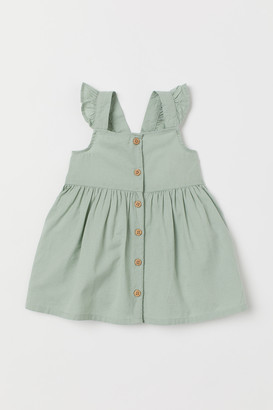 H&M Flared Cotton Dress