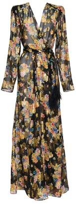 ATTICO Floral Gown