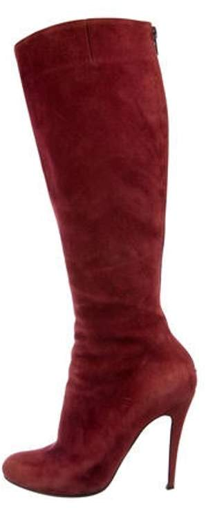 811d79f178e Suede Knee-High Boots Suede Knee-High Boots