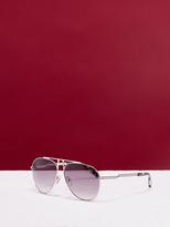 Diane von Furstenberg Scarlett Aviator Sunglasses