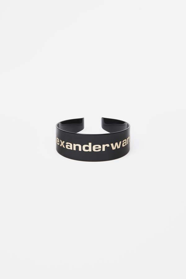 Alexander Wang Alexanderwang gold logo headband