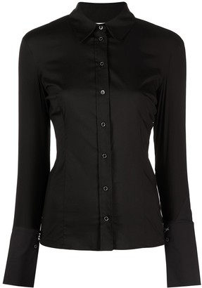 Patrizia Pepe Fitted Buttoned Shirt