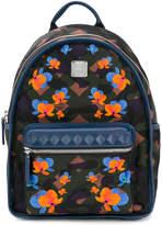 MCM floral print backpack