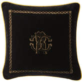 "Roberto Cavalli Venezia Cushion, 16""Sq."