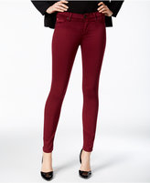 Hudson Colored Wash Super-Skinny Ankle Jeans