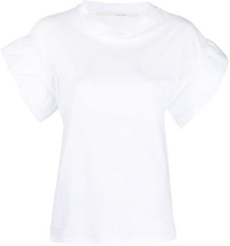 Tela flared cuff T-shirt