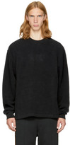 Alexander Wang Black Fleece classic Black Sweatshirt