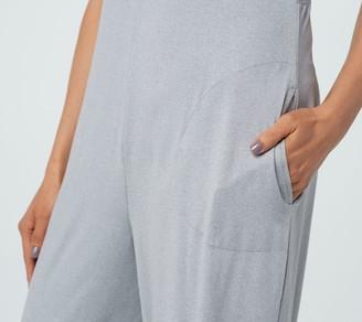 Cuddl Duds Tall Flexwear V-Neck Wide Leg Jumpsuit