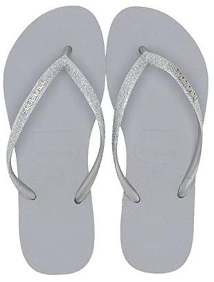 Havaianas Slim Glitter Sandal (Ballet Rose) Women's Sandals