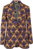 Miu Miu Printed mohair and wool-blend jacket