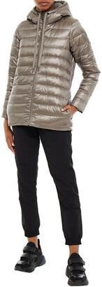 DKNY Matelasse Shell Hooded Down Jacket