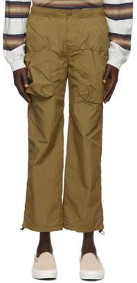 Remi Relief Khaki Taffeta Cargo Pants