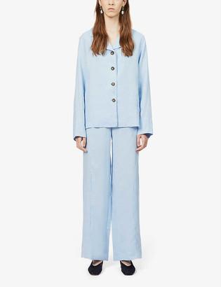 Sleeper Long-sleeved linen pyjama set