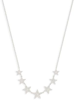 Saks Fifth Avenue 14K White Gold Diamond Charm Necklace