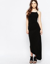 Wal G Maxi Dress With Asymmetric Hem