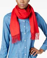 Charter Club Solid Woven Cashmere Scarf, Created for Macy's