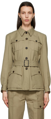 Chloé Khaki Saharienne Jacket