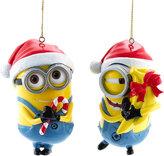 Kurt Adler Despicable Dave and Carl Ornament Set