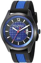 Tommy Bahama Men's Quartz Stainless Steel and Silicone Casual Watch