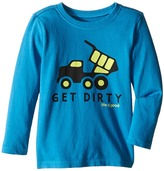 Life is Good Get Dirty Truck Long Sleeve Tee (Toddler)