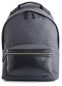 ROYCE New York Women's Mixed Media Laptop Backpack