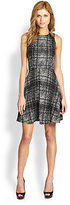 4.collective Printed Flared Dress
