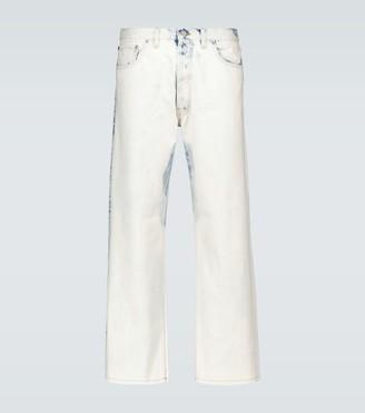 Maison Margiela Acid washed straight-leg jeans