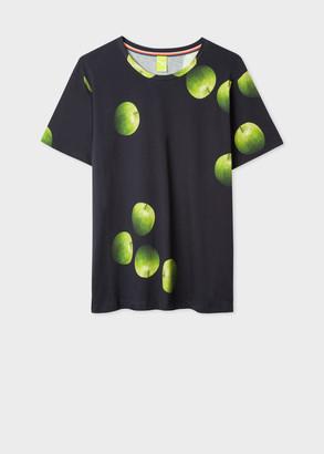 Paul Smith Women's 'Green Apple' Print T-Shirt