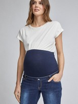 Dorothy Perkins Maternity Mom Jean Over Bump - Indigo