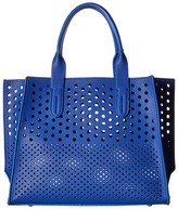 Gabriella Rocha Augustina Perforated Tote