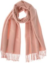 Mint Velvet Apricot Solid Blanket Scarf