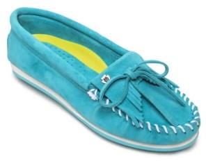 Minnetonka Kilty Plus Moccasin Women's Shoes